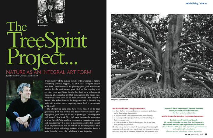 Going Natural Magazine (spread) CANADA