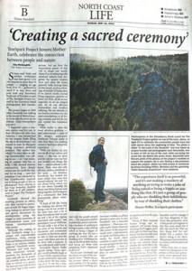 """Creating a sacred ceremony"" Times_Standard_story_5.12.13_400p_WEB"