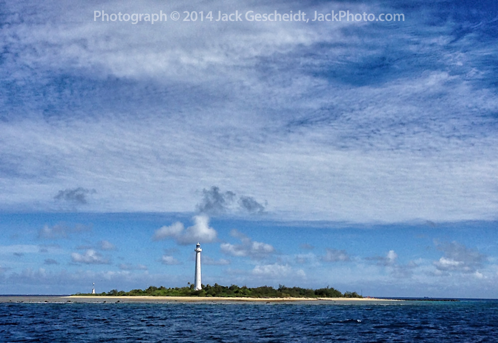 Amedee Lighthouse Island, a tiny paradise just 20km from Noumea.