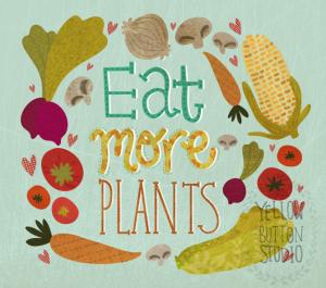 Eat-More-Plants-yellow-button-studio