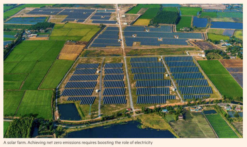 Zero-carbon economy is both feasible and affordable Solar Farm The Financial Times Nov 22, 2018.png