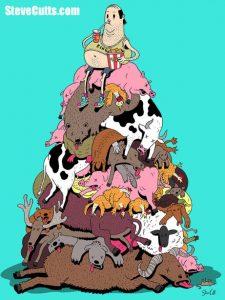 Steve-Cutts-man-atop-dead-animals-pile.jpg
